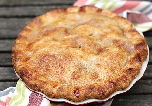 Deep dish apple pie | sweeties | Pinterest