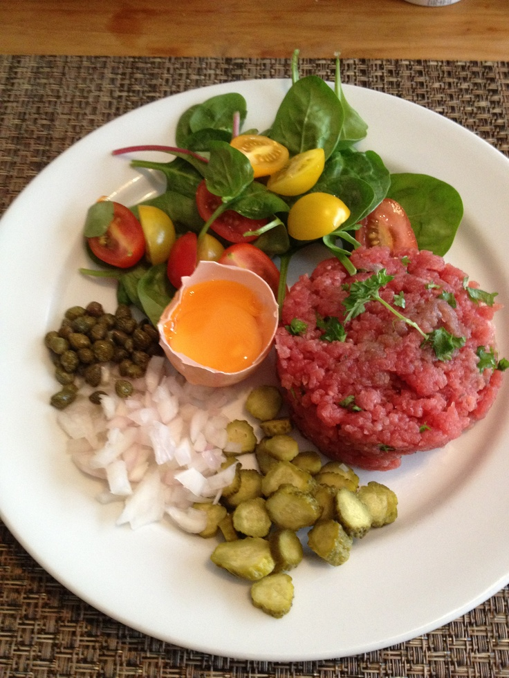 Steak Tartare | Steak | Pinterest
