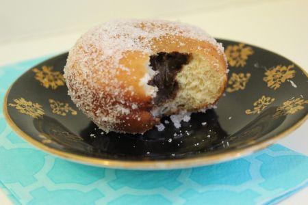 Chocolate Cream Filled Vanilla Sugar Doughnuts Recipes — Dishmaps