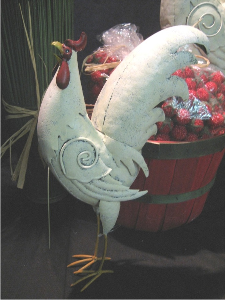 Rooster Chicken Kitchen Decor