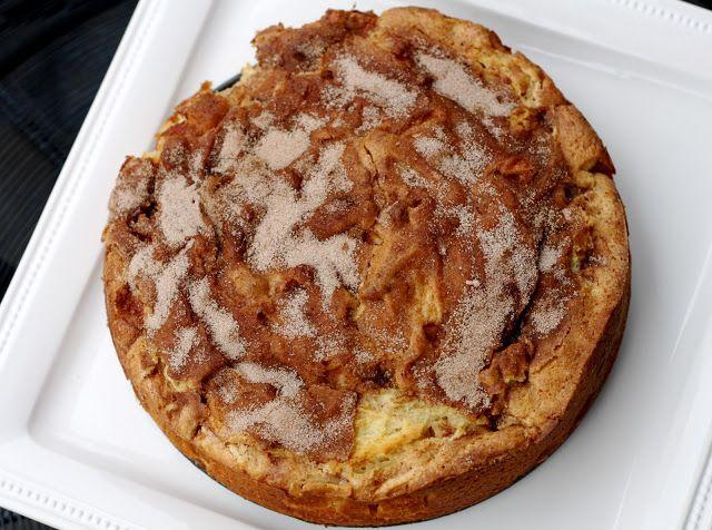 Cinnamon Apple Coffee Cake.