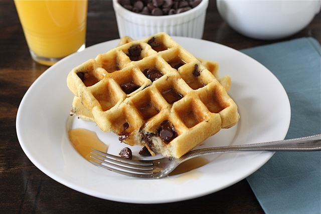 TKBlog-Chocolate Chip Waffles 10 by Ree Drummond / The Pioneer Woman ...