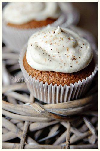 Irish Coffee Cupcakes. And they are very Irish. YUM!