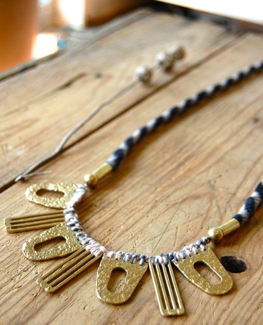 Pol necklace by Erin Considine
