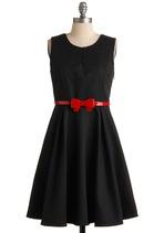 Little black dress, with a little fun!