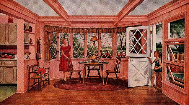 Better Homes And Gardens July 1961 Retro Interiors