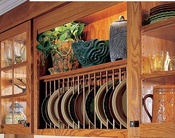 Plate Rack Shelf For The Home Pinterest