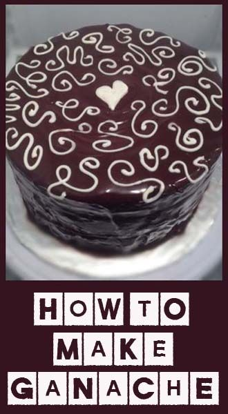 How to make Ganache | Chocolate? Yes! | Pinterest