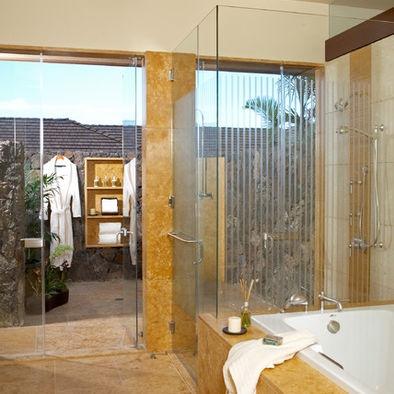 Tropical Bathroom Design   my house ideas   Pinterest: pinterest.com/pin/40954677832696811