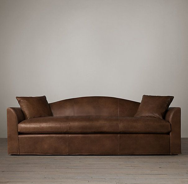 Belgian Camelback Leather Sofa | Ideas for the House | Pinterest