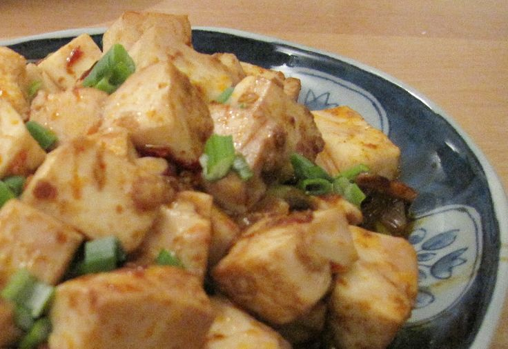 Mapo Tofu (Vegetarian and Non-vegetarian versions)