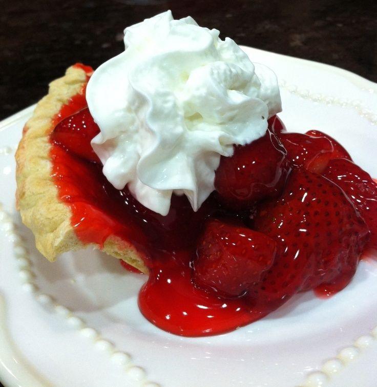 Fresh Strawberry Pie | Awsome Pictures | Pinterest
