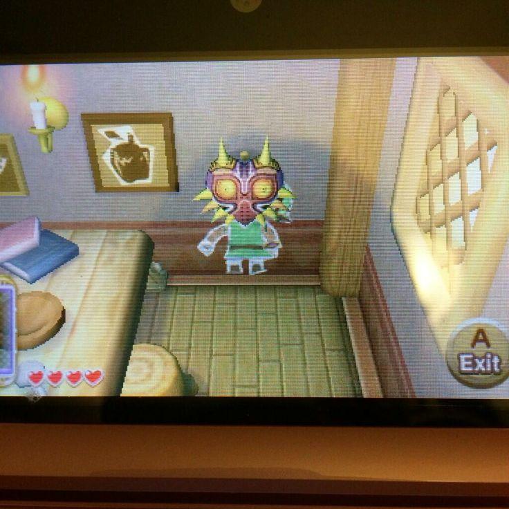 Diretor explica o porquê da aparição da máscara de Majora em Zelda: ALBW C3661628b99c5e53215075b521adc82e