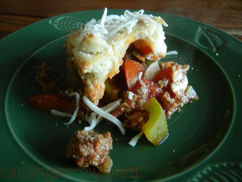 italian pot pie | Recipes | Pinterest