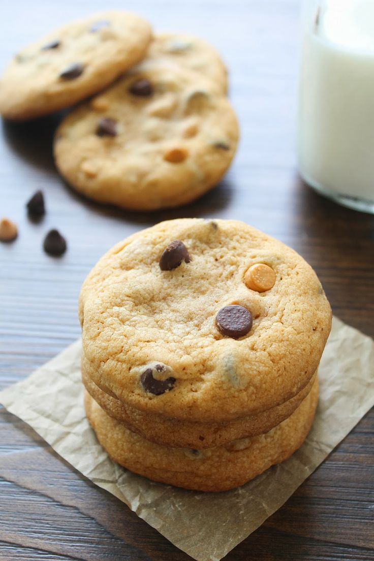 Butterscotch chocolate chip cookies   Cookie Monster   Pinterest