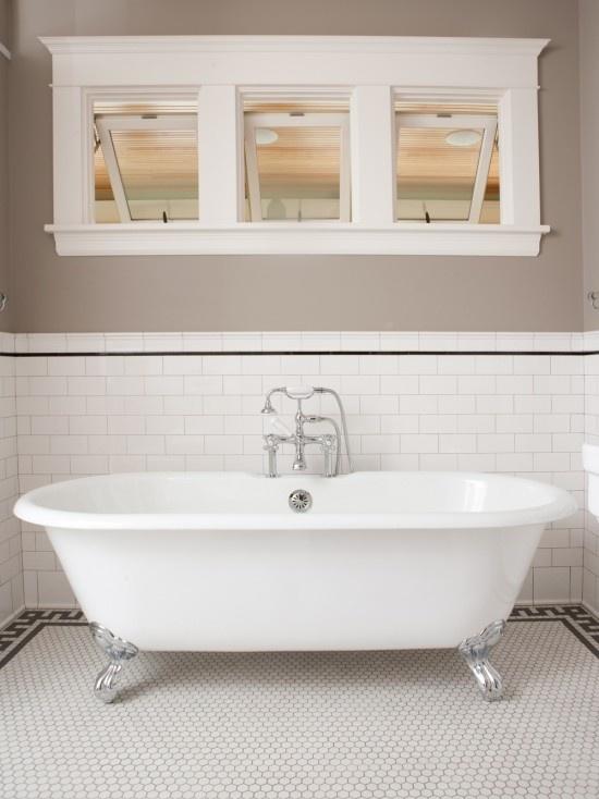 Windows over tub bathroom ideas pinterest for Tub over old tub