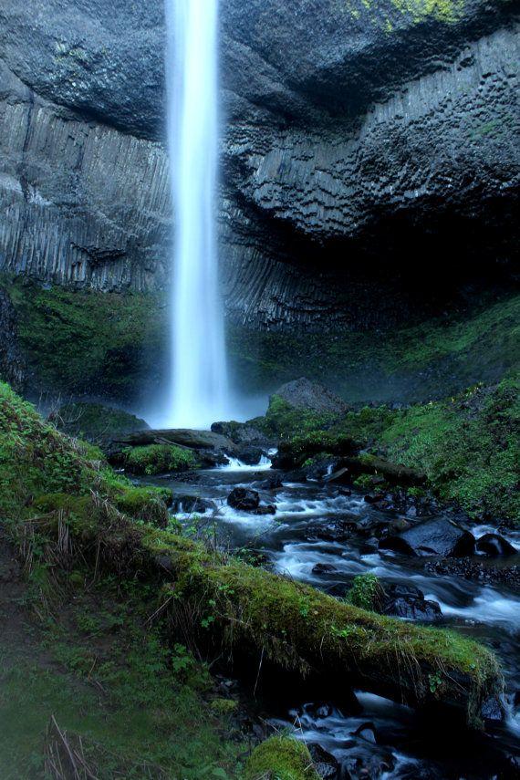 waterfall canvas beautiful home decor