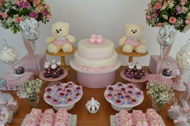 at a teddy bear baby shower see more party ideas at
