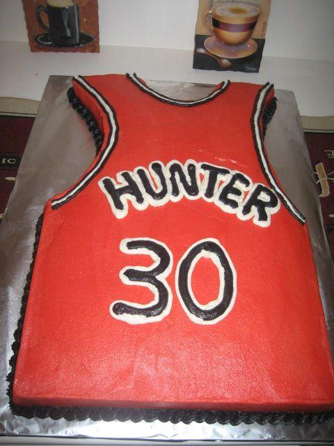 chicago bulls jersey cake