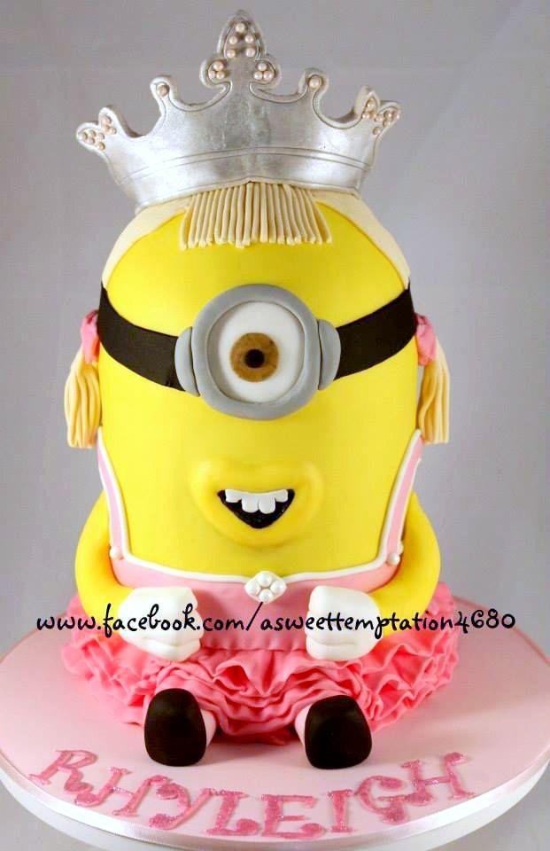 Minion Birthday Cake  Lets party!  Pinterest