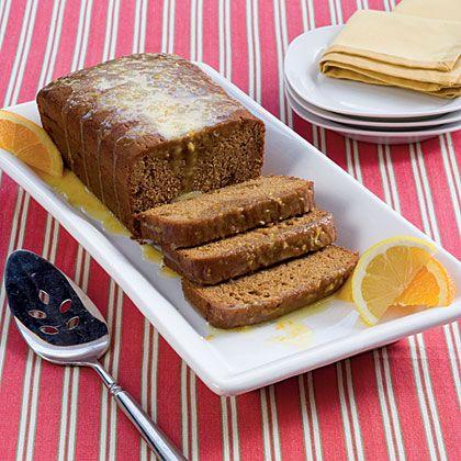 Gingerbread Cakes With Citrus Glaze   Recipe