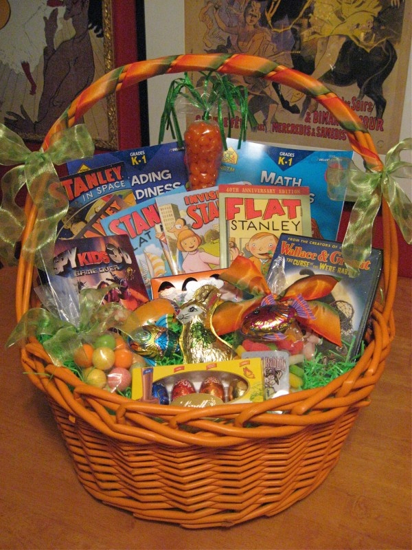 Tate 39 S Easter Basket 4 Years Old Holiday CRAZY Pinterest