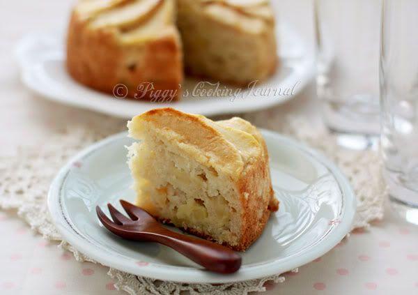 Apple-Coconut Family Cake | Apple | Pinterest