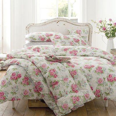 beautiful, bed, bedroom, cath kidston, floral, flowers