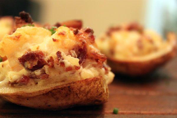 Stuffed Baby Potatoes Recipe — Dishmaps