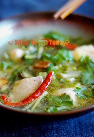 Simple fish soup recipe recipes pinterest for Fish soup near me