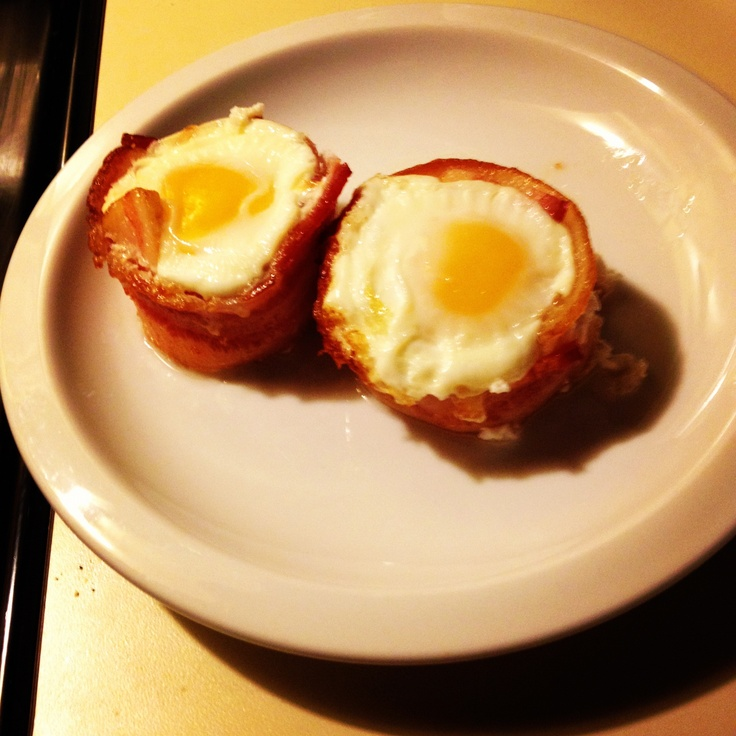 Bacon n Eggs cupcake | Favorite Recipes | Pinterest