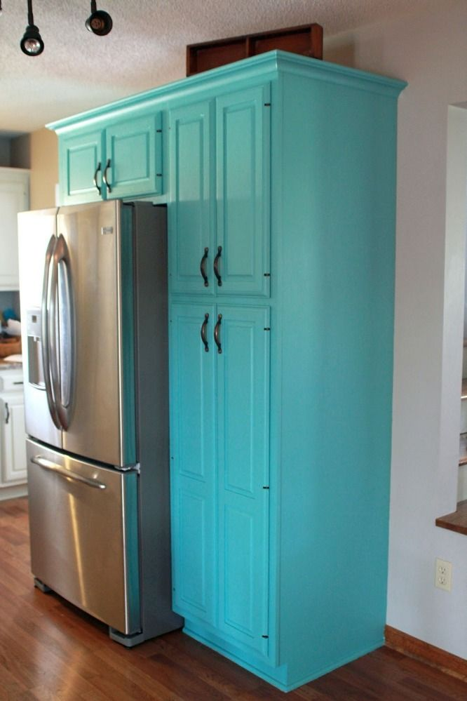Painting Kitchen Cabinets Country Blue  not this blue but