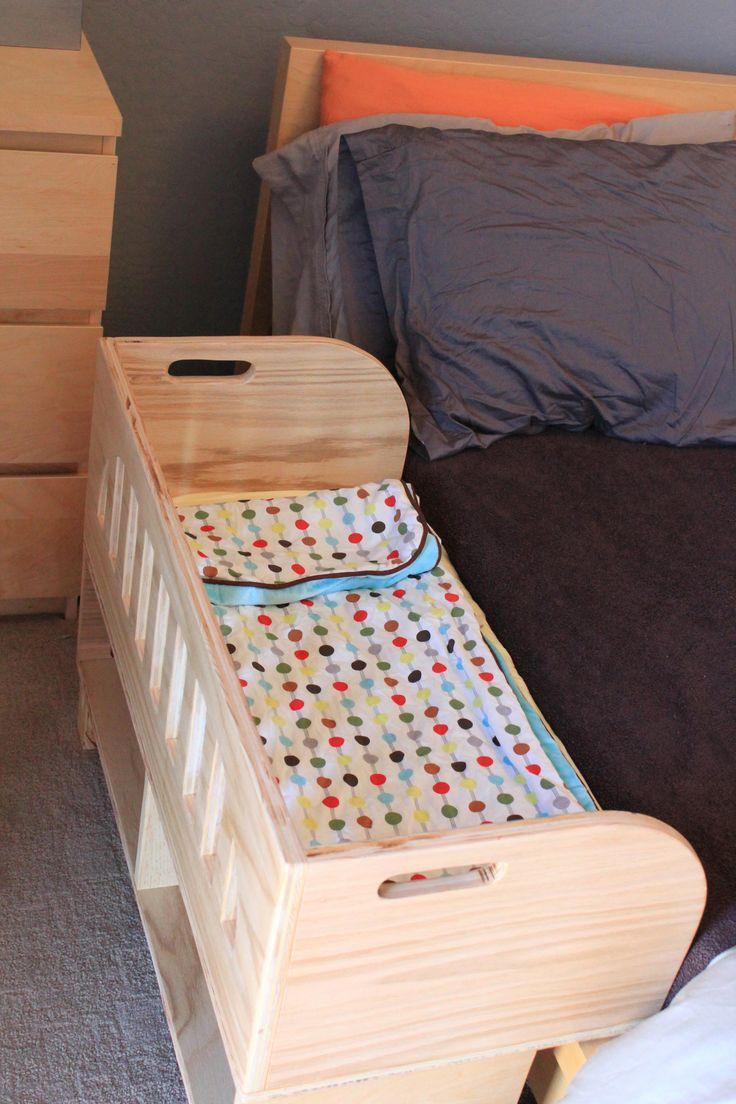 Кроватки приставные для новорожденных своими руками 43