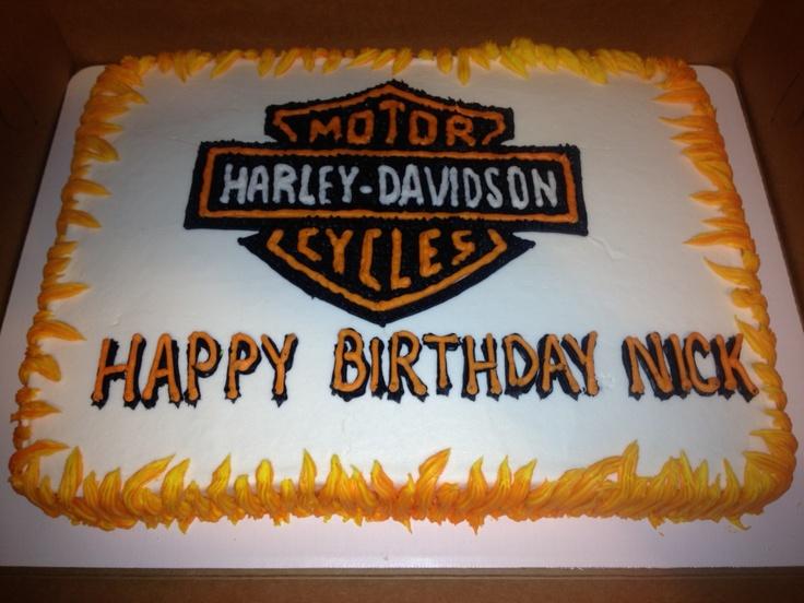 Anniversary Cake Images In Hd : Harley Davidson Birthday Cake Gifts Pinterest
