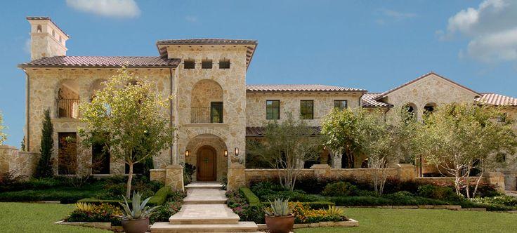 Tuscan style luxury home dallas texas gorgeous casas for Luxury tuscan homes