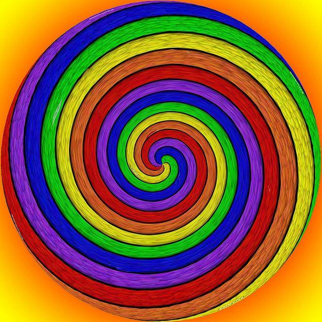 spiral rainbow - photo #10