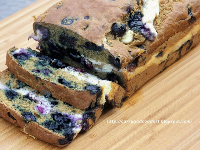 Banana-Blueberry Bread with Cream Cheese | Breads & Muffins | Pintere ...