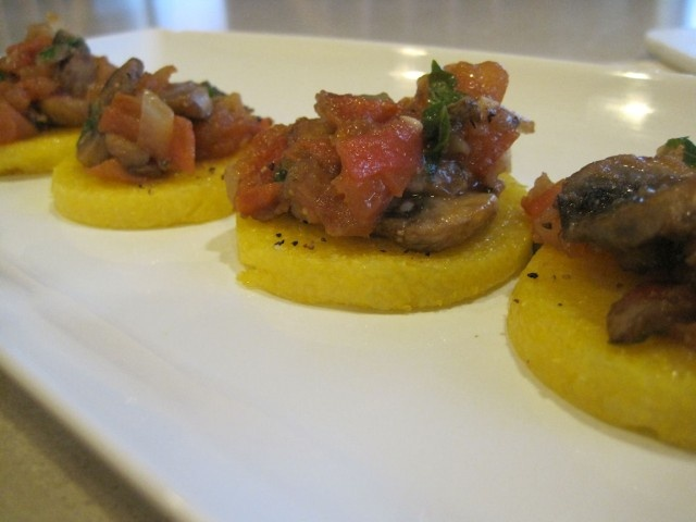 polenta tomato and corn salad quick and easy polenta with tomato sauce ...