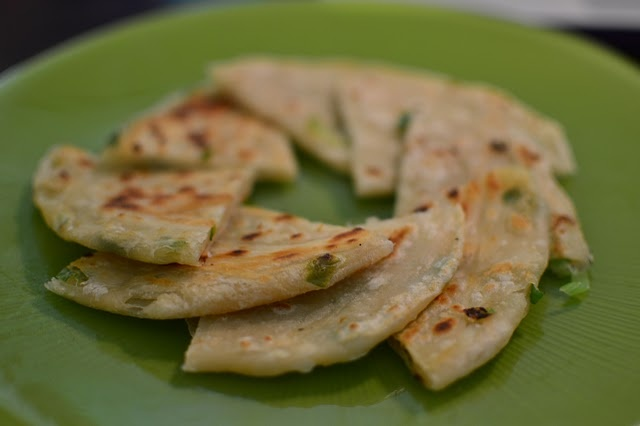 Chinese Green Onion Pancakes | Yummies | Pinterest