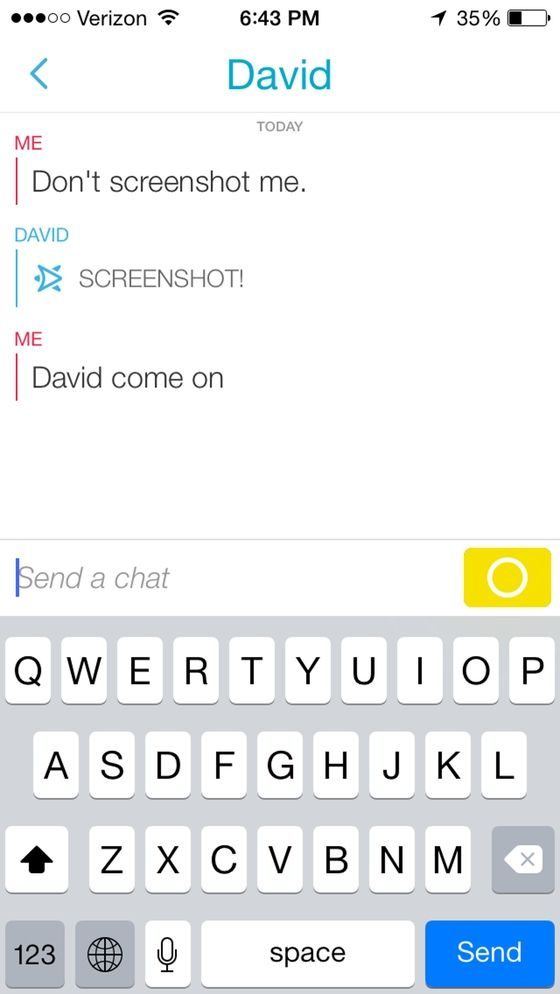 how to delete snapchat texts