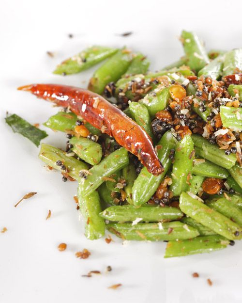 Stir-Fried Green Beans with Coconut - Martha Stewart Recipes