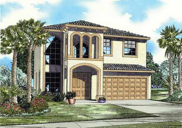 This 5 bedroom spanish mediterranean style home features a for Mediterranean architecture features