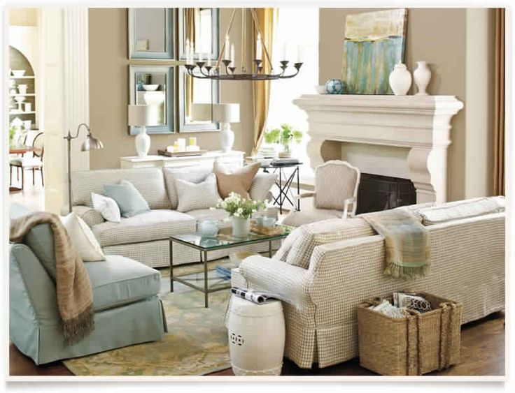 Cute living room by ballard designs beach house condo for Cute living room ideas