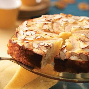 Old-Fashioned Almond Pear Cake Haven't tried this yet; however ...