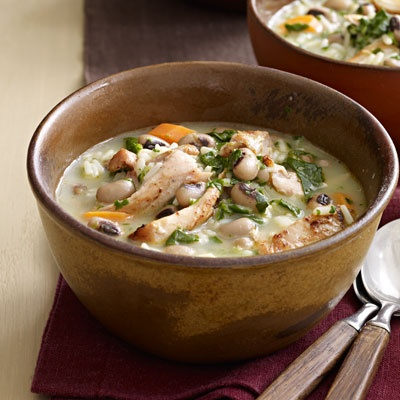 Creamy Chicken-and-Rice Soup | Recipe