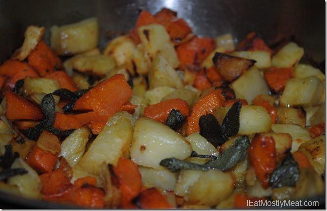 Sweet Potato Stacks With Crispy Sage Leaves Recipes — Dishmaps
