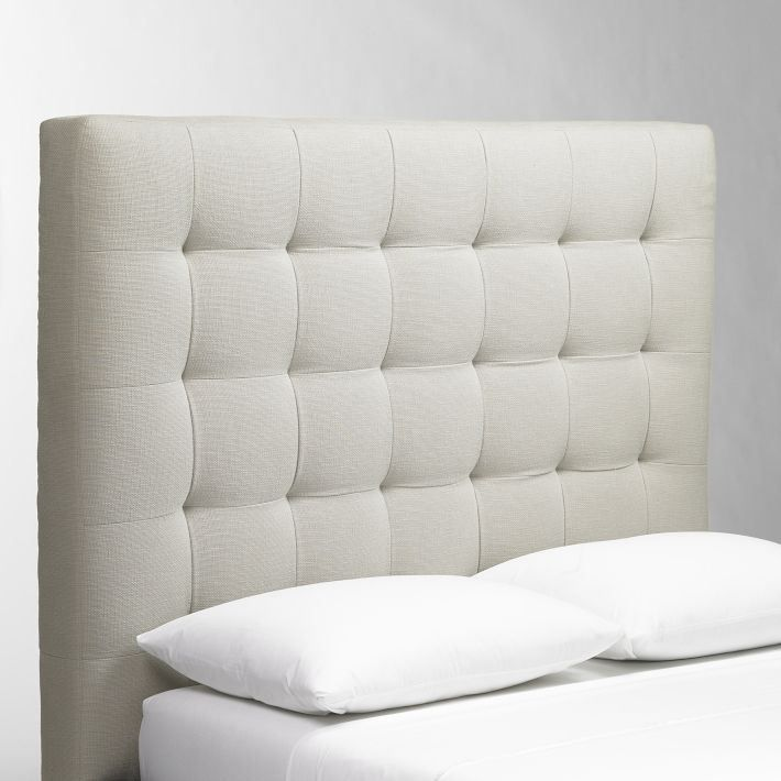 west elm tufted headboard for the home pinterest