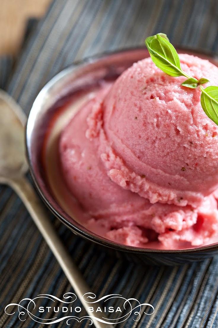 Jackie Writes: Rustic Strawberry Frozen Yogurt (Sugar-Free/Fat-Free)