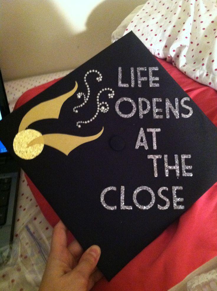 Graduation cap quotes quotesgram for Decoration quotes sayings