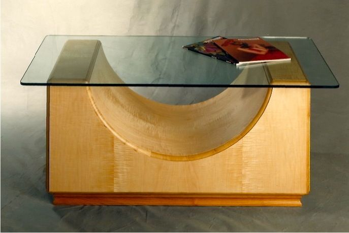 Glass Top Table Slim Larsen Design Coffee Table Pinterest